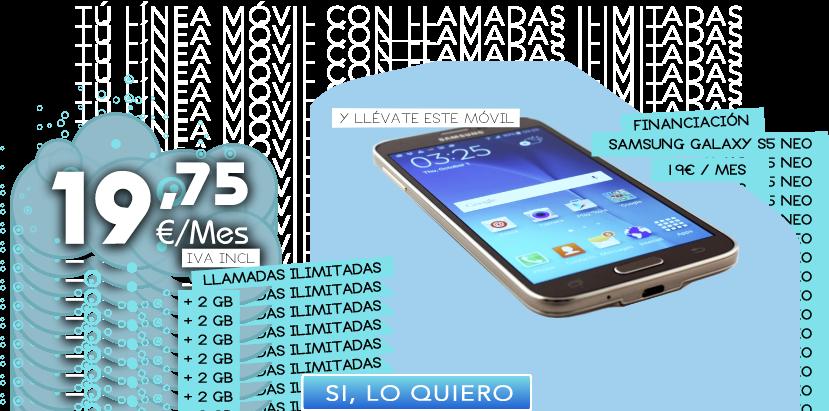 Samsung Galaxy Wibaes Línea Móvil